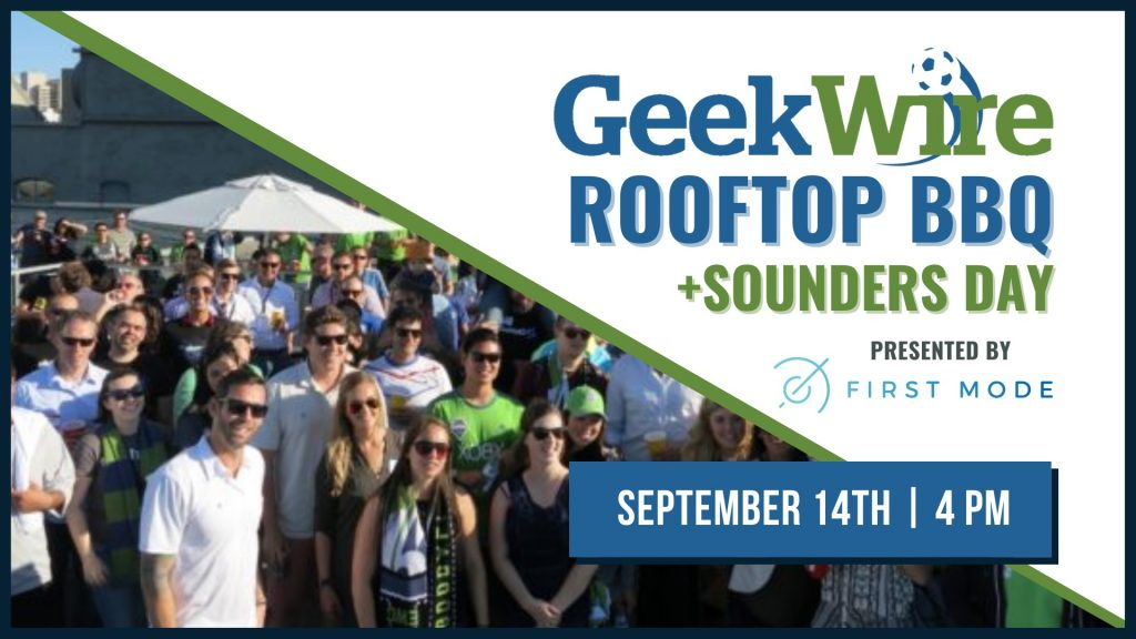 GeekWire's rooftop BBQ and Sounders Day returns next week: Last chance to grab tickets