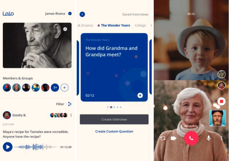 Seattle startup Lalo is latest 'death tech' innovator, with an app to share and collect stories and more